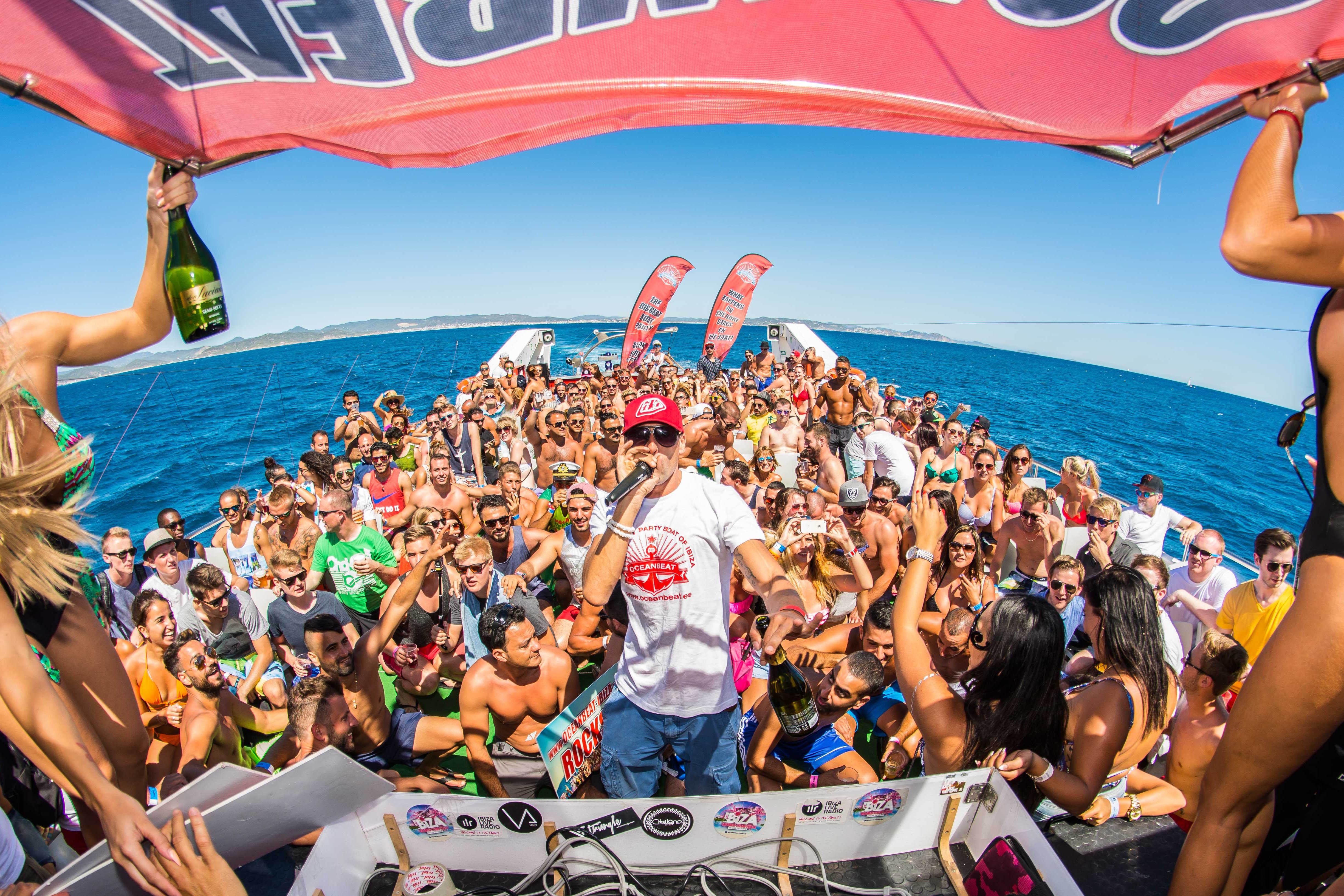 Imprezy na statku – Oceanbeat Ibiza Boat Party